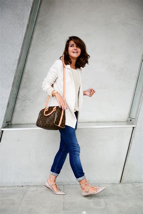 Fashion Spedy c is for classic lovely pepa by alexandra flats bags and blazers