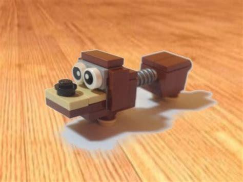 lego dog tutorial lego toy story slinky dog custom tutorial youtube