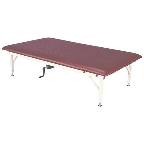armedica hi lo treatment tables armedica adjustable hi lo am series steel mat treatment