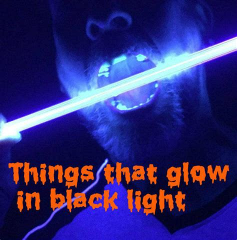 what is ultraviolet light things that will glow in black uv light 7 steps with