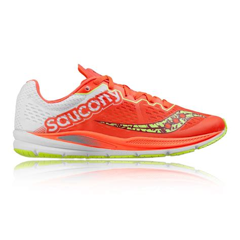 orange saucony running shoes trainers saucony fastwitch 8 womens running shoes ss17