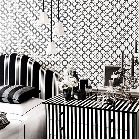 monochrome bedroom monochrome bedroom with mix and match patterns modern