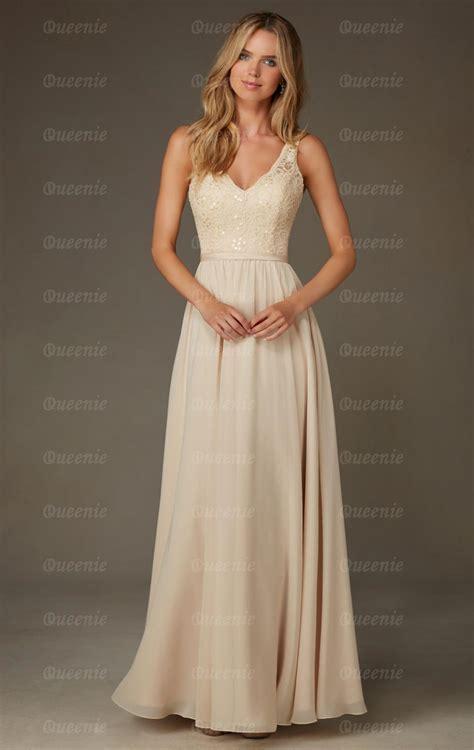 Uk Champagne Bridesmaid Dress BNNCL0001 Bridesmaid UK