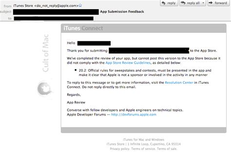 Apple App Giveaway - apple rejects app over ipad giveaway guidelines exclusive cult of mac