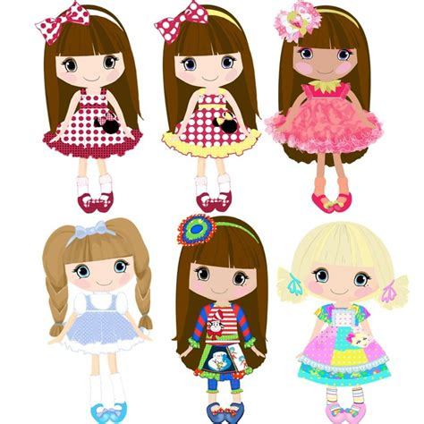 doll clipart 1000 images about on surface pattern