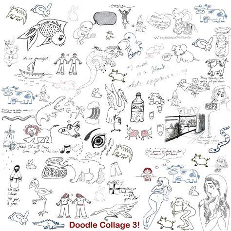 doodle 2 vs doodle 3 doodle collage 3 by skeevy on deviantart