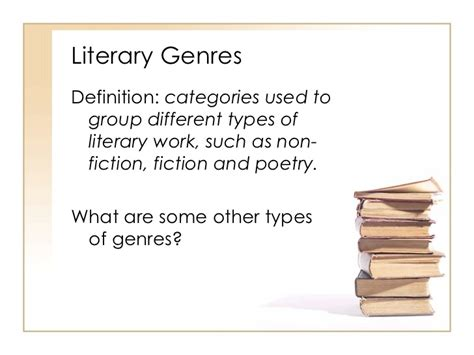 literature definition literary genres