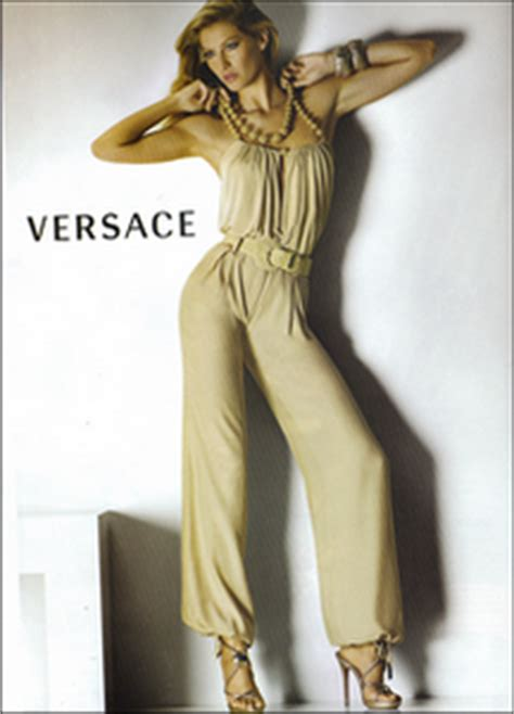 Fab Ad Gisele Bundchen For Versace by Gisele Bundchen Ad Caign For Versace Summer 2008