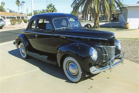 Ford Deluxe by 1940 Ford Deluxe Coupe 198257