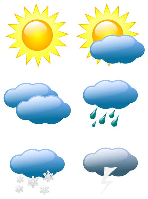 Signs & Symbols   Signs, Symbols, Pictograms ... Free Clip Art Weather Pictures
