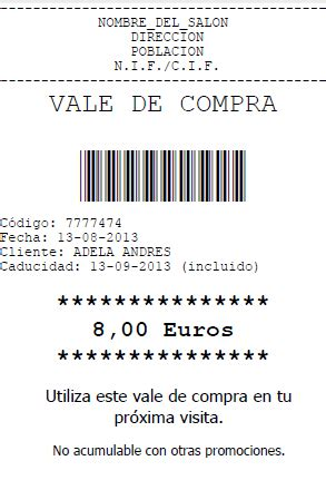 ejemplo de ticket de compra vale de compra manager programa para peluquer 237 a y