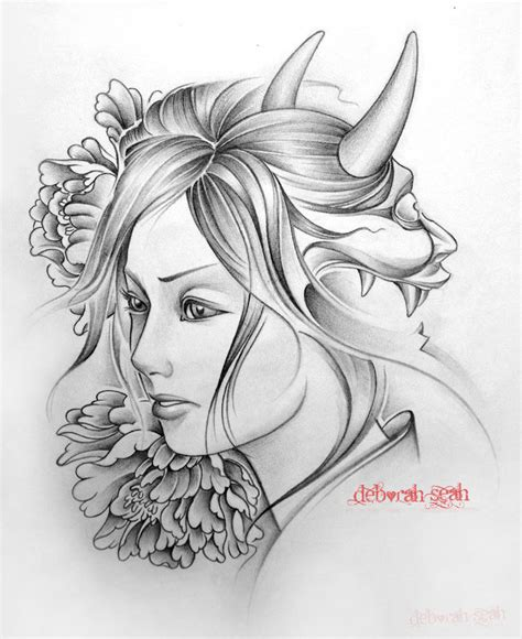 demon girl tattoo designs designs images for tatouage