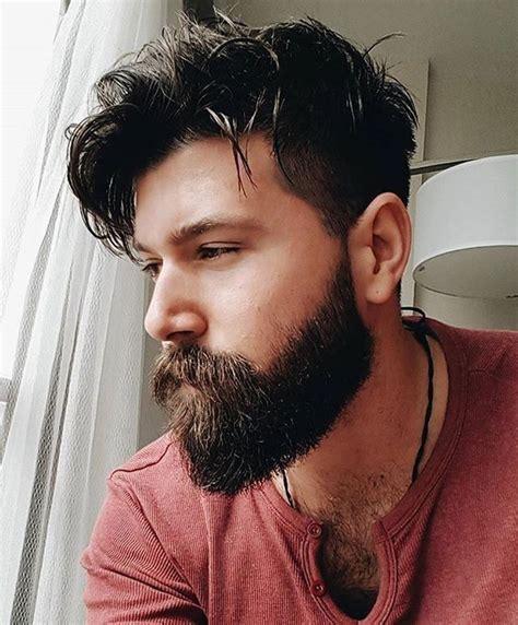 beard length hair length medium length hairstyles for men beards pinterest