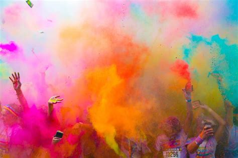 color tun lg partners with the color run channelnews