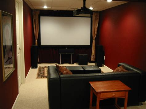 how to make a theatre room walled theater with a to curl up on