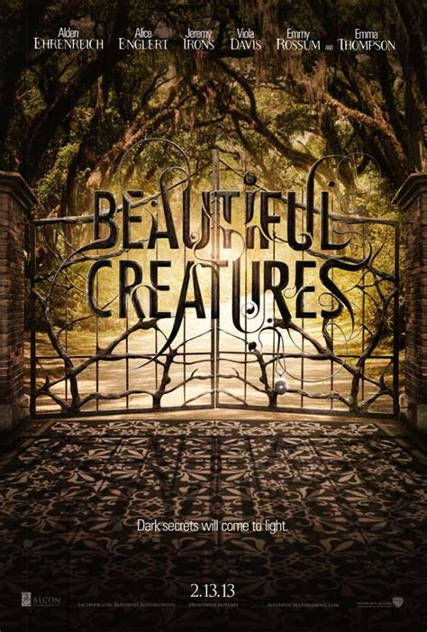 beautiful creatures beautiful creatures movie posters from movie poster shop