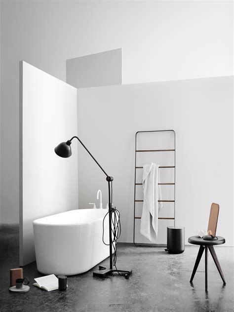 menu bathroom accessories gridy me mirror mirror black wood by menu
