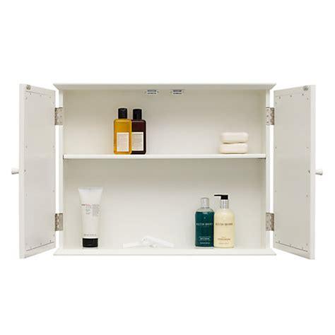 Buy John Lewis St Ives Double Mirrored Bathroom Cabinet Lewis Bathroom Storage