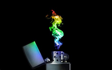 Colorful Lighter Wallpaper | colorful lighter flame wallpaper