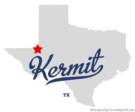 kermit texas map map of kermit tx texas