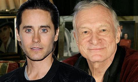 Hugh Hefner And On Baby Theres Been Lots Of Trying by Jared Leto Will Play Hugh Hefner In A New Daily