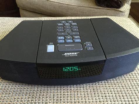 bose wave radio cd player  remote black bose