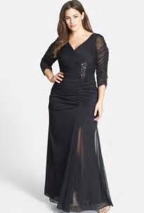 adriana papell beaded mesh plus size gown mother of