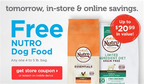 petco nutro food petco free bag of nutro food coupon rebelle