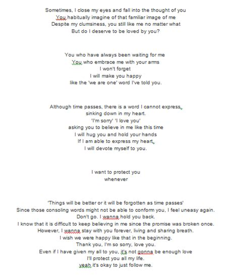 Exo Promise Lyrics | exo s song promise lyrics exo pinterest exo letras