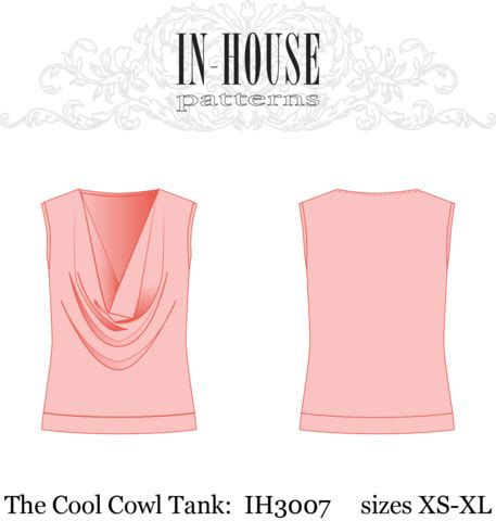 pattern making for beginners pdf pdf sewing pattern for a knit cowl neck tank top in