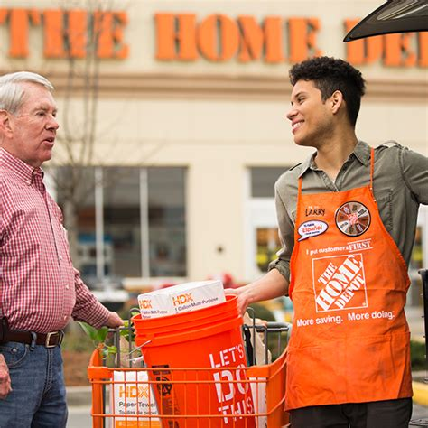 what does a lot associate do at home depot