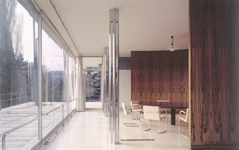 tugendhat house material masters glass is more with mies van der rohe archdaily