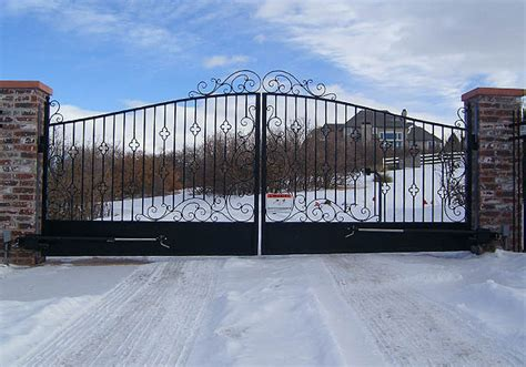 dual swing gate residential multi family gate openers rocky mountain