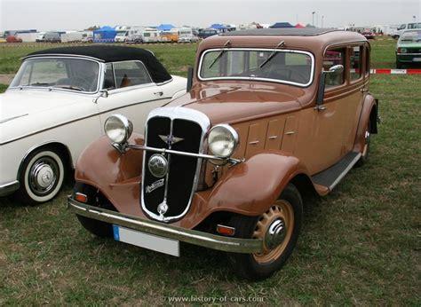 Sport Sedans 15k by 1934 1936 Hanomag Rekord 4 Door Sedan Typ 15k Hanomag