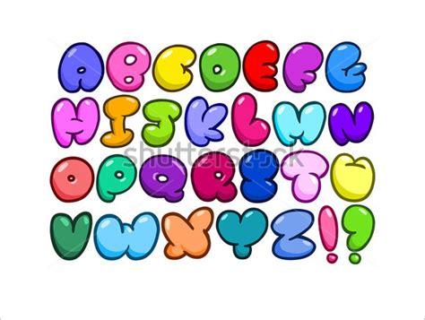 colored bubble letters 30 alphabet bubble letters free alphabet templates