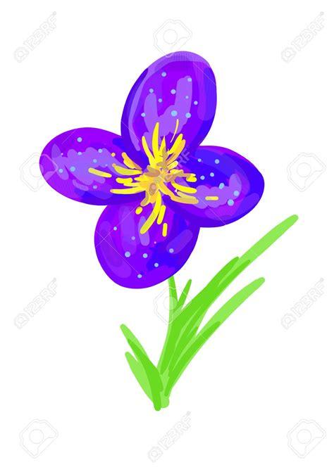 Fleur Violette by Dessin Violette Fleur Map Titecagne
