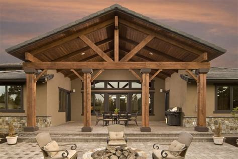cedar patio cover custom patio cover cedar patio cover roofed patio cover roof tie in customer outdoor living
