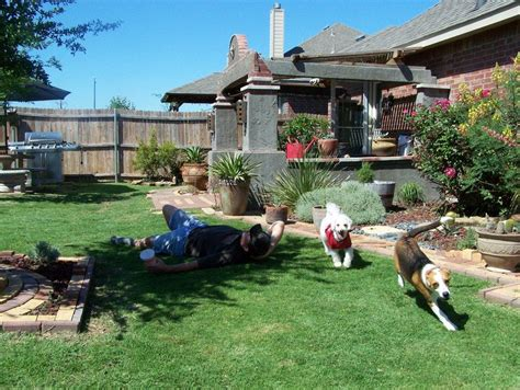 landscaping photo of quot backyard ft worth tx quot posted by rockjw