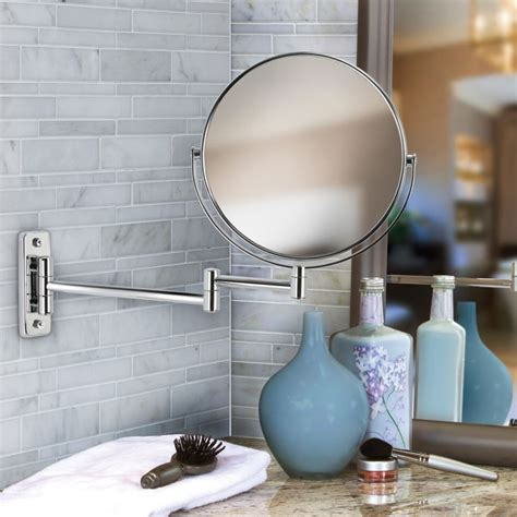20 Stylish Shaving Mirrors Sided Bathroom Mirror