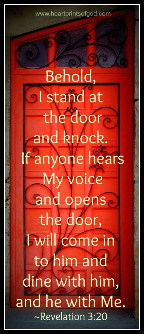 Stand At The Door And Knock by The Invitation