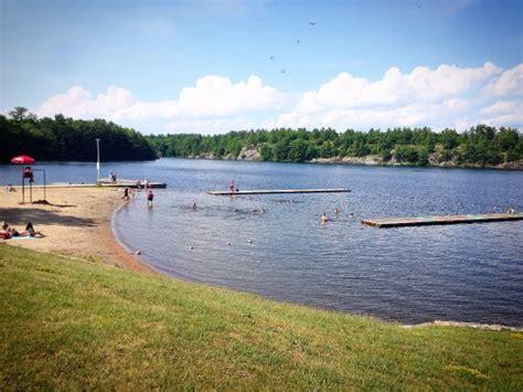 canoes gravenhurst canoe on the lake picture of gull lake rotary park