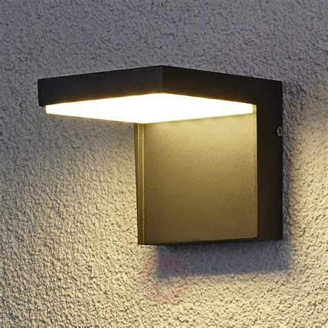Modern Outdoor Led Wall Lights Modern Led Outdoor Wall Light Aluminium Lights Co Uk