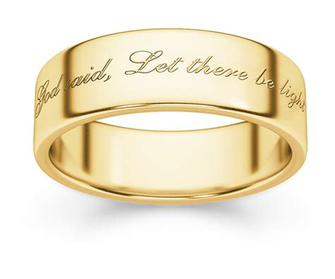 let there be light bible verse genesis bible verse wedding band ring lordsart