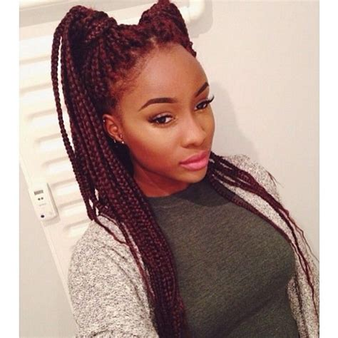burgundy box braids 345 best images about box braids and senegalese twists on