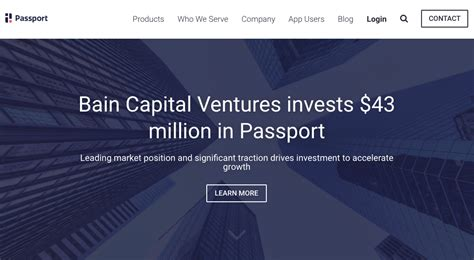Bain Capital Post Mba by Passport Raises 43 Million From Bain Capital Finovate