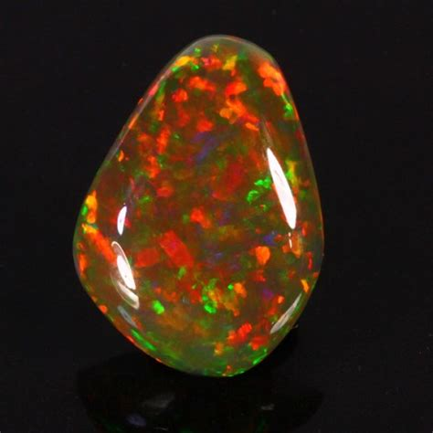 welo black opal gemstone weight 7 62cts