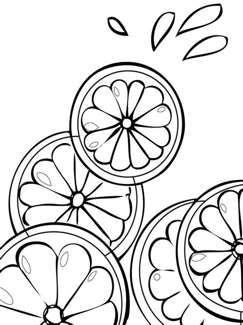 Free Fruit Coloring Pages by Citrus Fruits Coloring Pages And Print Citrus
