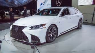 Lexus Ls 2018 Lexus Ls 500 F Sport Adds Giddy Up To Posh Flagship Roadshow