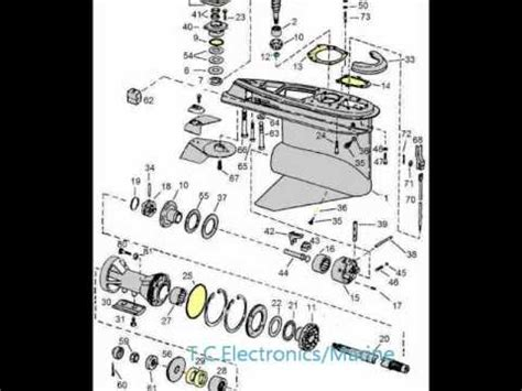 omc stringer parts diagram omc parts drawings 400 800 stringer outdrives