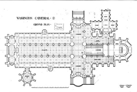 National Cathedral Floor Plan | the national building museum gets washington national